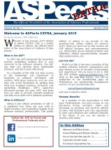 January 2019 ASPects EXTRA